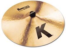 "Zildjian K 18"" Dark Crash Thin traditional Finish pélvico Cymbal batería Drum"