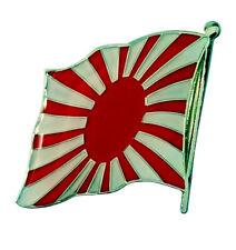 Japan Flagge Pin | Japanische Kriegsflagge Kyokujitsuki Aufgehende Sonne Samurai
