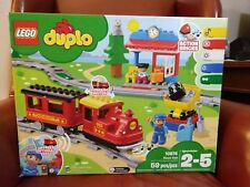 10874 STEAM TRAIN motorized LEGO duplo NEW legos set duplos NISB light sound