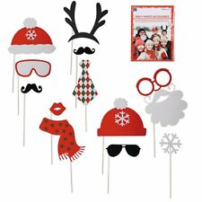 Christmas Party Fun Photo Booth Props Party Props Festive Xmas Office Parties