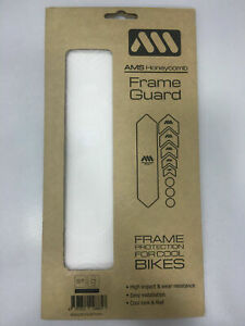 All Mountain Style AMS Honeycomb Frame Guard Frame Protection Sticker White/Wolf