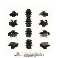 Carlson Brake H5778Q Rear Disc Brake Hardware Kit Manufacturers Limited Warranty