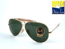 Ray Ban SHOOTER 3138 001 58 Cerchietto Portasigarette Sunglasses calibro piccolo
