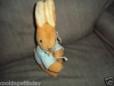 VINTAGE RARE FREDERICK WARNE PETER RABBIT PLUSH DOLL FIGURE BEATRIX POTTER  TOY