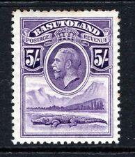 More details for basutoland kgv 1933  5s. violet sg9 m/mint