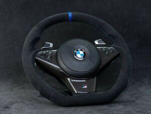 CUSTOM BMW E60 535i 550i 528i 535xi 650i Performance Alcantara Steering Wheel
