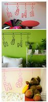 Home Wall Quote Stickers Kids Children Nursery Wall words phrase Decals Bedroom