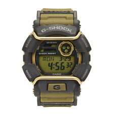 Casio G-Shock Men's Quartz World Time Gray Accent Green Resin 50mm Watch GD400-9