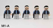 Lego Star Wars Rebel Scout Trooper Minifigures Lot of 5 w/ Blasters 10198 7668