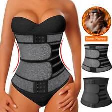 US Neoprene Sauna Waist Trainer Sweat Belt for Women Weight Loss Trimmer Shaper