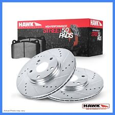 Hawk Perf HK4955.711Z Disc Brake Hardware Kit for Scion Subaru