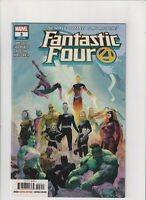 Fantastic Four #3 NM- 9.2 Marvel Comics 2018 Human Torch,Thing, Reed & Sue