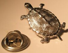 Turtle Vintage Lapel Pin tortoise giant sea reptile gift