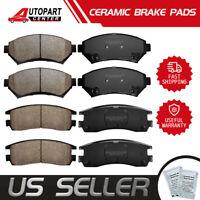 Front & Rear Ceramic Brake Pads For BONNEVILLE MONTANA GRAND PRIX TRANS SPORT