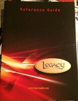 Legacy Speakers Reference Guide Sales Brochure