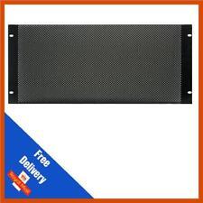 "DY Pro Audio | 19"" Mesh/Vented Solid Steel Rack Blanking Panel/Plate | 4u"