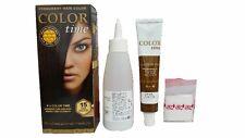 Color Time, Tinte Permanente para el Cabello Color Chocolate Negro 15