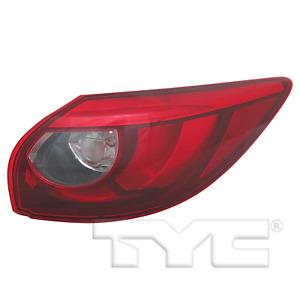 Outer Quarter LED Tail Light Rear Lamp Right Passenger for 16-16 Mazda CX-5