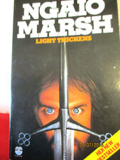 Ngaio Marsh LIGHT THICKENS 1984 vintage paperback RODERICK ALLEYN murder mystery
