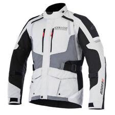 Giacche grigio in tessuto per motociclista taglia XXL