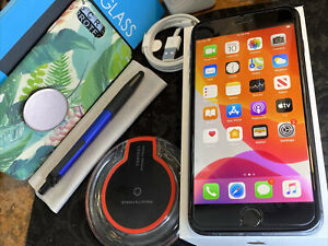 Apple iPhone 8 Plus (256gb) World-Unlocked Verizon (A1864) Black {iOS13}86% LooK