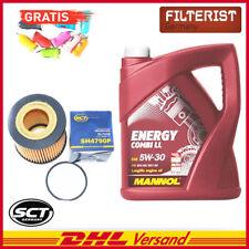 SCT Germany Ölfilter SH4790P, Mannol Öl Energy 5 L, Autoladegerät geschenkt