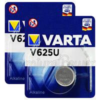 2 x Varta V625U batteries Alkaline 1.5V LR9 4626 PX625A 625A Button Cell Key Fob