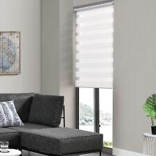 Plisado klemmfix ancho 40-110cm blanco crema klemmträger longitud 110-220cm /& persiana