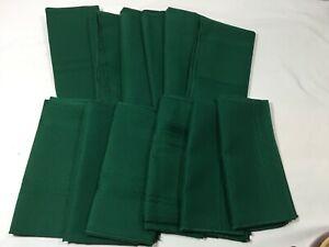 17 x 17 Dinner Napkins 100% Polyester Emerald Irish Christmas Green