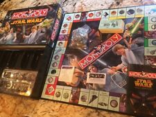 Monopoly Star Wars Saga Edition 2005 Complete