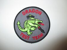 b8516 US Air Force Groom Black Ops Dragon Test Team Stealth Fighter IR24D