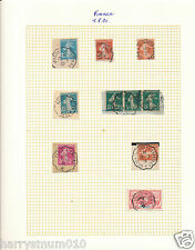 Travelling post offices railway postmark cancel France SA5