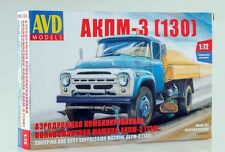 ZIL 130 AKPM-3 Unassembled Kit AVD Models by SSM 1:72