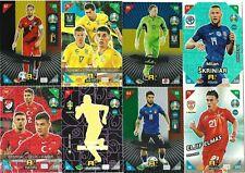 PANINI ADRENALYN XL EURO 2021 KICK OFF FANS/MULTIPLE/POWER CARDS 226-405