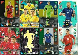 PANINI ADRENALYN XL EURO 2021 KICK OFF FANS/MULTIPLE/POWER CARDS 226-405