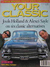 Your Classic magazine 09/1990 featuring Austin Healey frogeye Spite, Mercedes