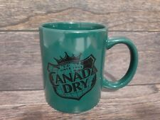 Rare Vintage CANADA DRY Cermaic Cup Mug Tea Old Stock Nostalgia Collectable Coff