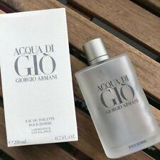 Aqua Acqua Di Gio Eau de Toilette EDT 6.7 - by Giorgio Armani Men 200ml.