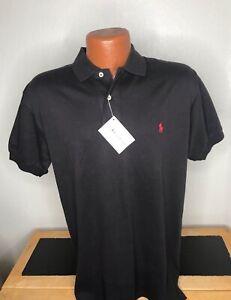 NWT Men's Polo by Ralph Lauren S/S Polo/Golf Shirt Medium (M) Brown - Cotton