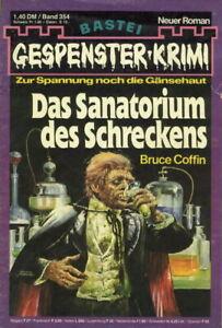 """Gespenster-Krimi Nr. 354 ***Zustand 1-2*** """"Frank Connors 31"""""""