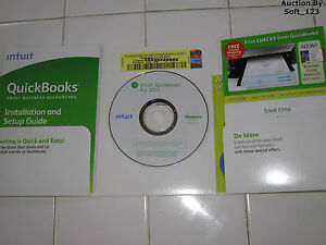 INTUIT QUICKBOOKS PRO 2011 FOR WINDOWS FULL RETAIL US VERSION