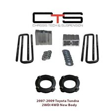 """Leveling LiftKit Front 2"""" Coil Spacer 2"""" Block 2WD 4WD Tundra 2-5/8""""x10""""x1/2"""""""