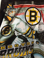 Vintage Boston Bruins CCM Jersey Youth L/XL Throwback 1990s Goalie