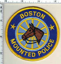 Boston Police (Massachusetts) Mounted Unit Shoulder Patch - from the 1990's