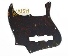 4 String Jazz J Bass Pickguard Left Handed Dark Tortoise for American Fender