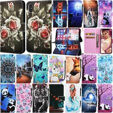 For iPhone 11 Pro Max XS XR 6s 7 8 Plus Magnetic Flip Leather Wallet Case Cover