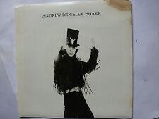 """ANDREW RIDGELEY (WHAM) """"Shake  /  Hangin""""  PROMO  7""""45rpm Vinyl Record"""
