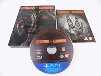 Mint Disc Playstation 4 Ps4 Evolve Steel Book Case Free Postage