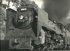 "🚂Black & White Train Photo Print 11"" X 14"" ENLARGEMENT STEAMER RAILROAD"
