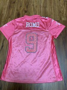 DALLAS Cowboys Pink Jersey Size XL Woman Women Reebok